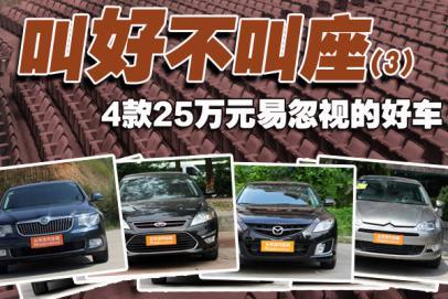 叫好不叫座(3) 25万值得购买车型推荐