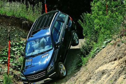 豪华不忘越野 深度驾驶奔驰ML 350 CDI