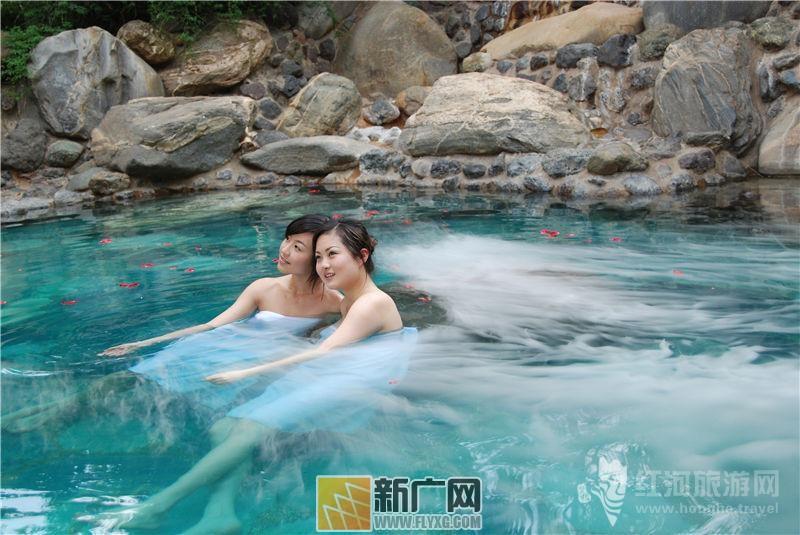 弥勒湖泉温泉