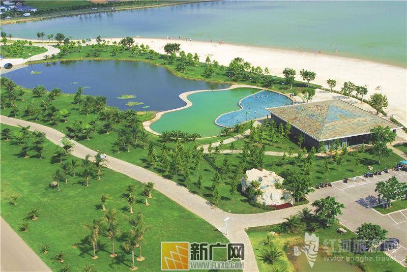 弥勒湖泉生态园