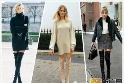 160cm的你该如何穿长靴达成长腿效果?