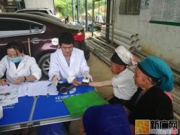 元阳县大坪乡卫生院为1500余名老年人免费体检