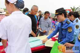 建水县城市管理综合行政执法局开展科普宣传活动