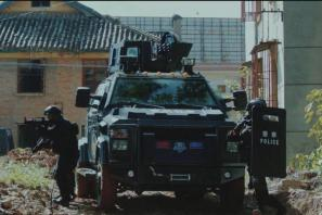 蒙自警方:扫黑除恶专项斗争宣传公益广告