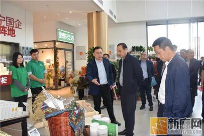 红河县党政代表团到上海市长宁区走访对接东西部扶贫协作工作