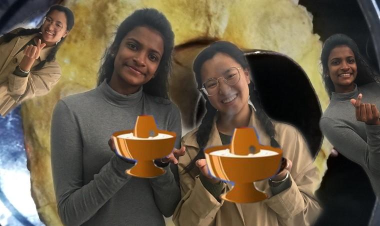 请我的外国朋友吃炊锅