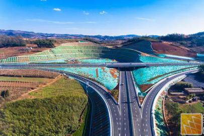 设计时速80公里 泸西至弥勒高速公路(二期)通车啦