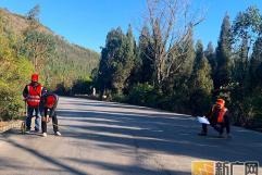 弥勒公路分局全面调查道路病害