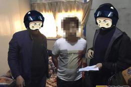 弥勒市公安局半月内抓获13名限时督捕逃犯