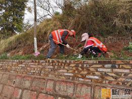 泸西公路分局党员示范路创建活动进行时