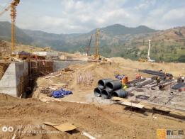 红河县高级中学项目建设如火如荼