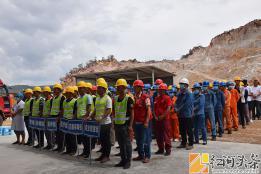 弥勒市:筑牢安全防线   应急救援演练进矿山