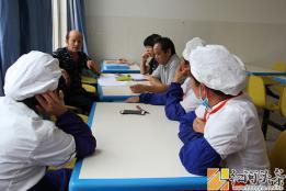 厉行节约 传承美德 ——弥阳镇弥东小学召开食堂工作会议