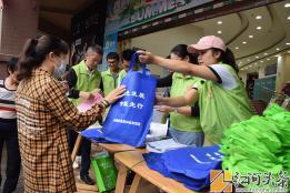 绿水青山   节能增效 弥勒市举行节能减排宣传周活动
