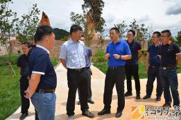 泸西:副州长周踊到午街铺镇调研美丽乡村建设及人居环境提升工作