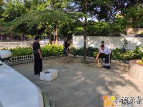 """红河县民政局开展爱国卫生大扫除 """"众参与""""活动"""