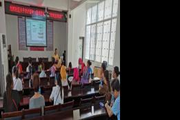 元阳县元槟社区开展留守儿童和困境儿童关爱保护政策宣讲活动