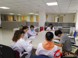 红河州第三人民医院强化《统计法》学习