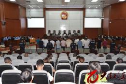 24人涉案!石屏县首例涉黑案件公开开庭审理