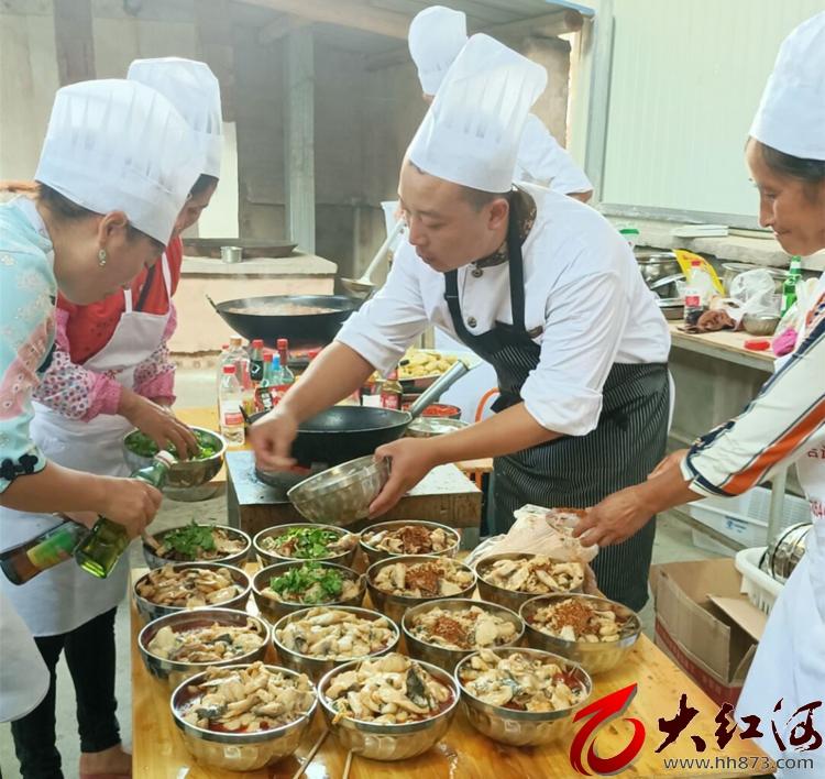 开展厨艺技术培训 新现镇新时代文明实践站再发力