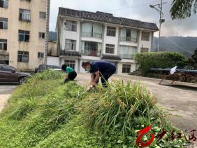 元阳县:大坪乡开展爱国卫生专项行动大扫除活动