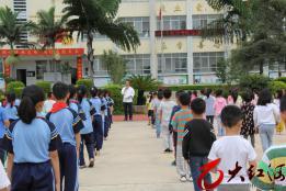 弥勒市弥阳镇弥东小学举行拜师礼活动