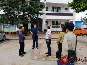 泸西县红十字会赴午街铺镇雨洒小学调研指导学校红十字工作