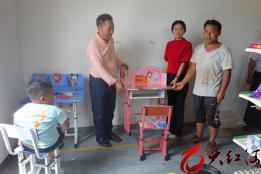 泸西:午街铺镇水塘小学开展送教上门活动
