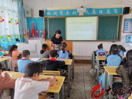 弥勒市弥阳镇弥东小学组织网络安全宣传活动