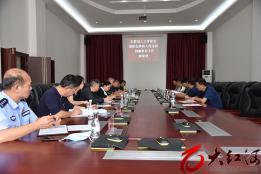 石屏县人大常委会到县法院调研刑事审判工作