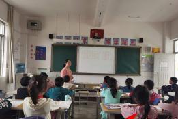 午街铺镇雨洒小学开展爱国卫生专项行动