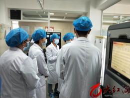 红河州卫健委专家组对红河州第三人民医院生物安全实验室进行督查