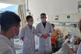 红河州第三人民医院专家为金平县医护人员开展带教查房及教学培训