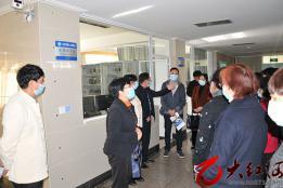 红河州政协视察红河州第三人民医院建设发展