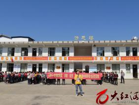 泸西:午街铺镇山林小学开展安全演练