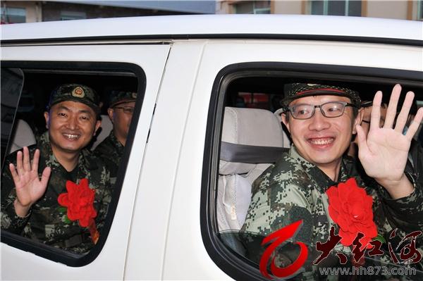 战疫情义无反顾:红河州第三人民医院10名强边固防突击队员出征